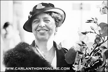 Eleanor Roosevelt's energy, optimism, and work ethic usually vanquished her occasional depression, determined to make a difference during the crises of a national depression and a global war. (carlanthonyonline.com)