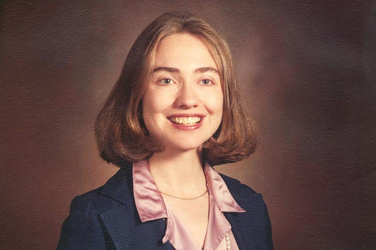 Hillary Clinton as a Rose Law firm attorney. (hillaryclinton.com)